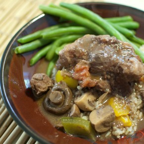 Cabernet Oxtail Stew