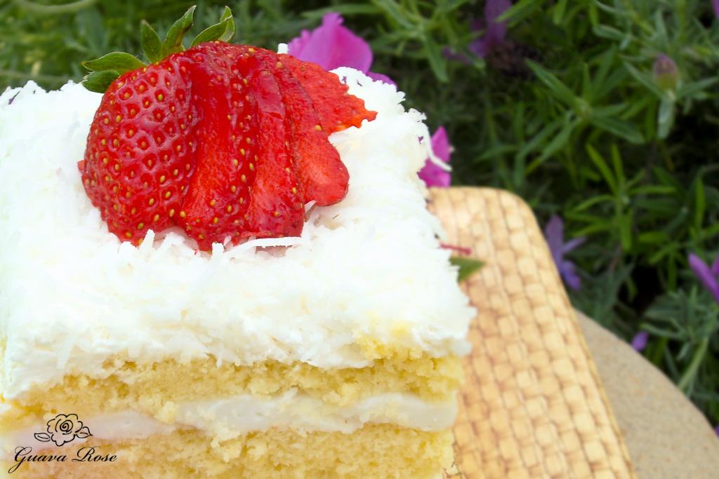 Haupia Chiffon Cake