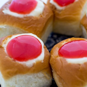 Guava Cream Cheese Custard Rolls