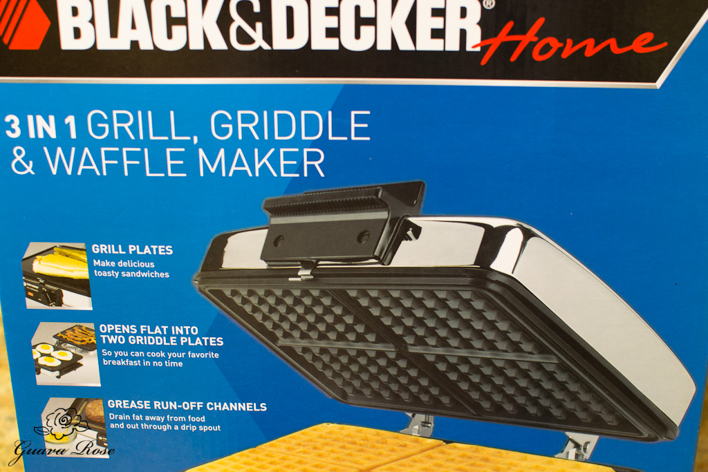 Waffle maker with floating hinge box