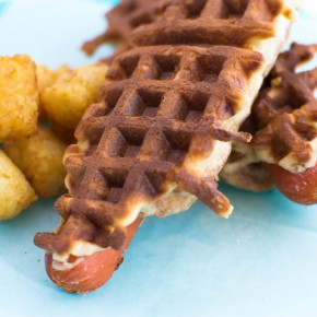 Waffle Dogs!