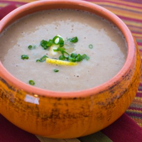 Creamy Mushroom Barley Soup