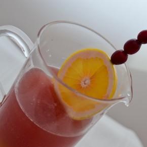 Grapefruit Cranberry Sparkler