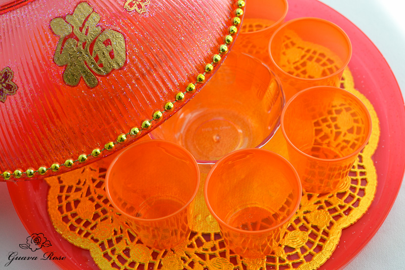 Chinese New Year Candy Box Guava Rose