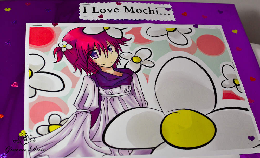 I love mochi poster close up