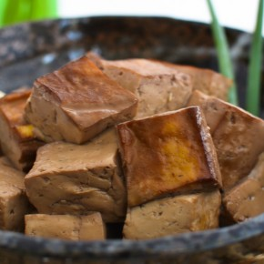 Lapsang Souchong Tofu
