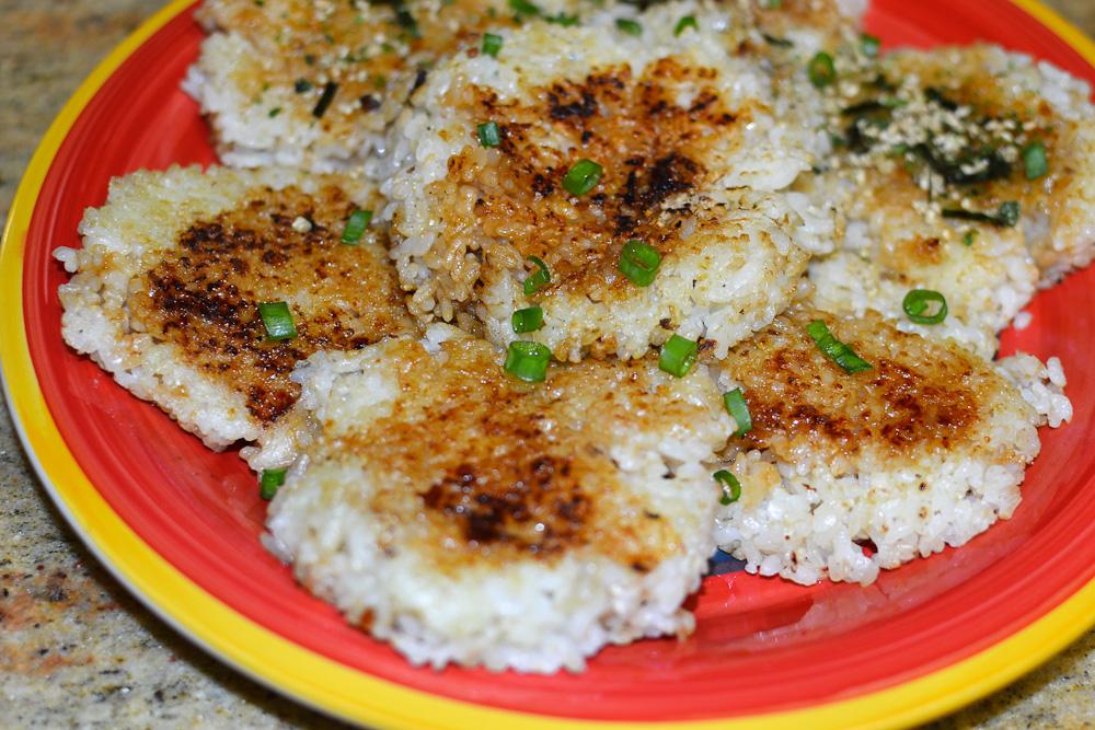 Crispy Rice Patties
