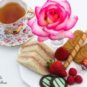 An Impromtu Tea and Healthier Deviled Meat Spread