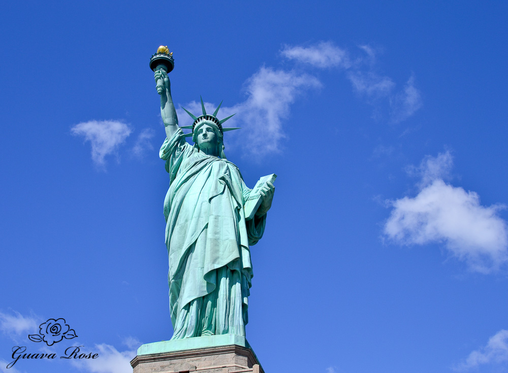 Statue of Liberty, front view