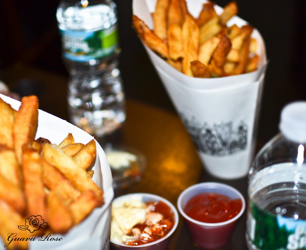 Pomme Frites with sauces