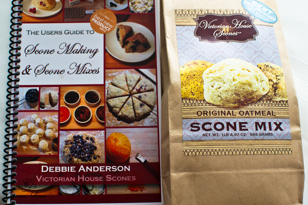 victorian House oatmeal scone mix, and users's guide
