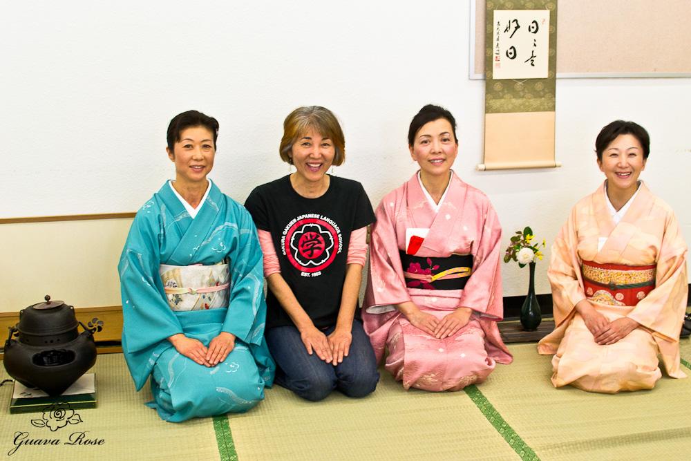 Sohei (Mayumi) Kagami, Kiyomi Buchanan, Mariko Sawada, Etsuko Tsukano