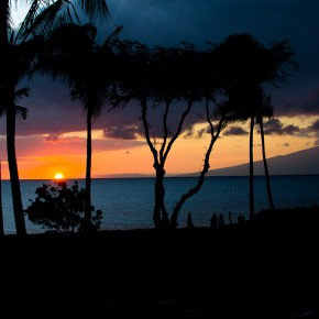 Wordless Wednesday--Maui Sunset