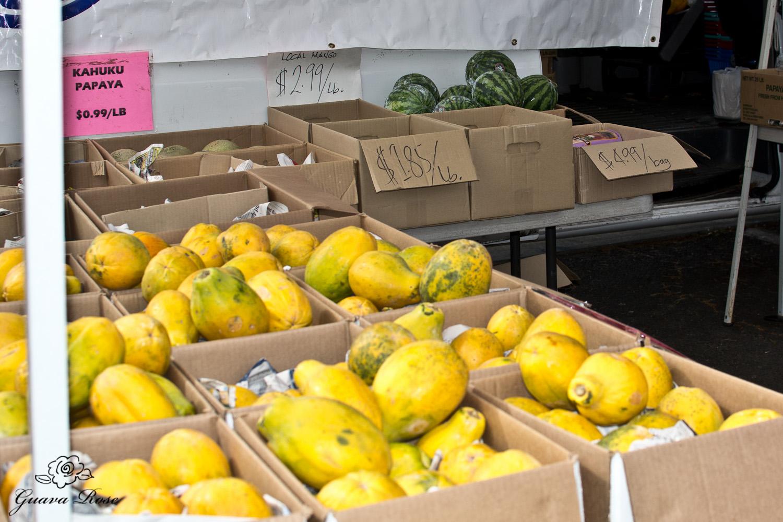 Papayas, Mangoes, Watermelon