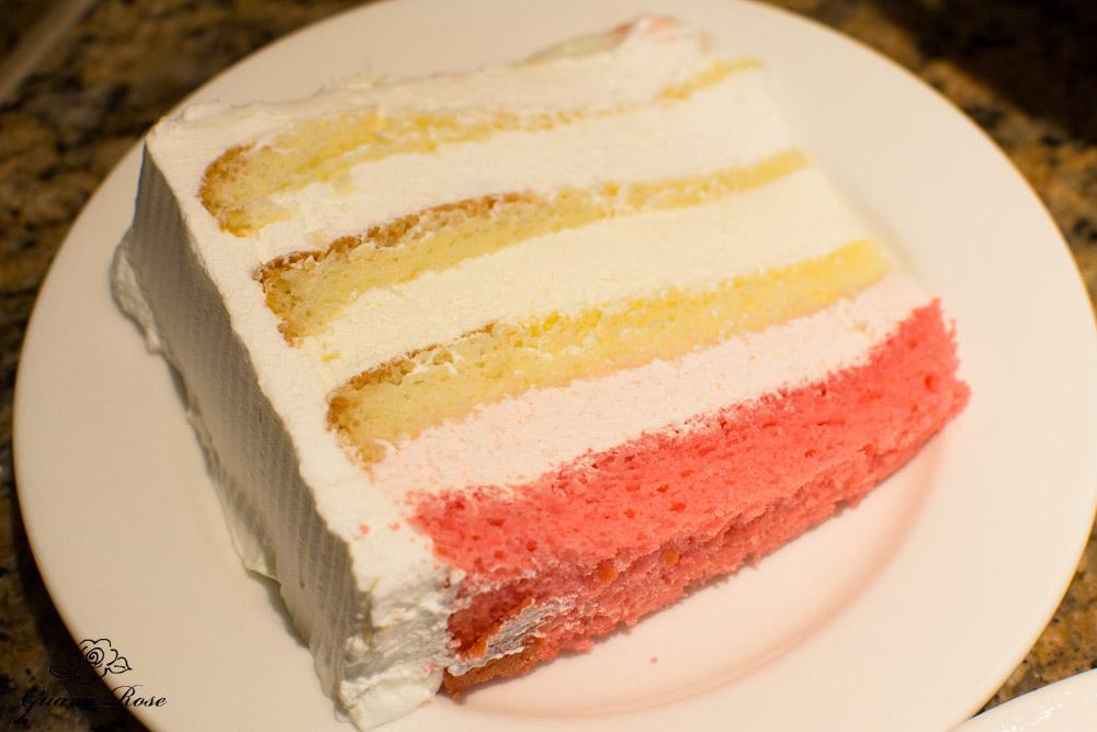 Queen Emma Cake, slice