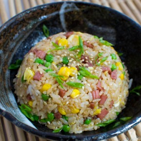Recipe: Easy Hawaiian-style Spam fried rice