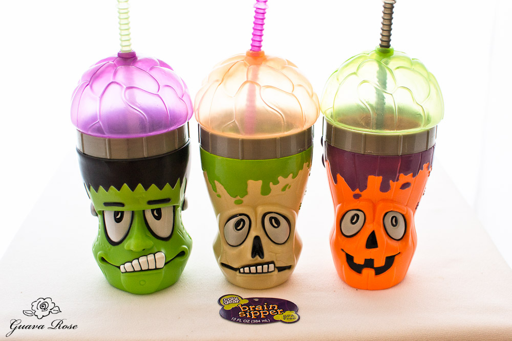 Brain sipper cups