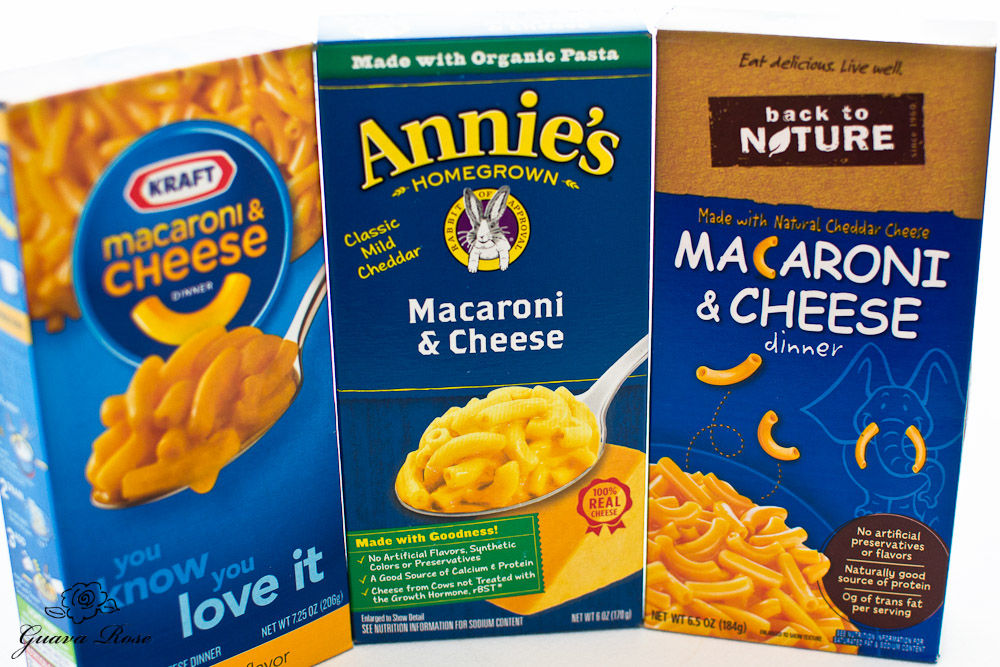 Boxes of mac and cheese