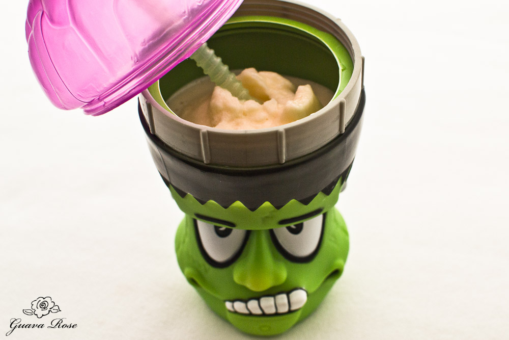 Slushie in Frankenstein Brain Sipper