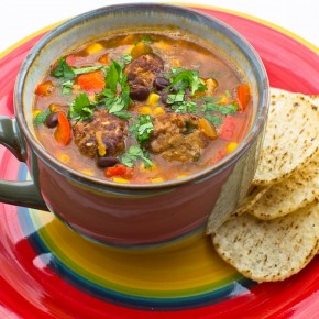 Recipe: Busy day salsa soup