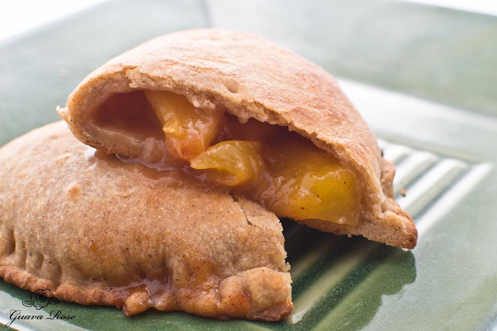 Soft fruit pie- peach