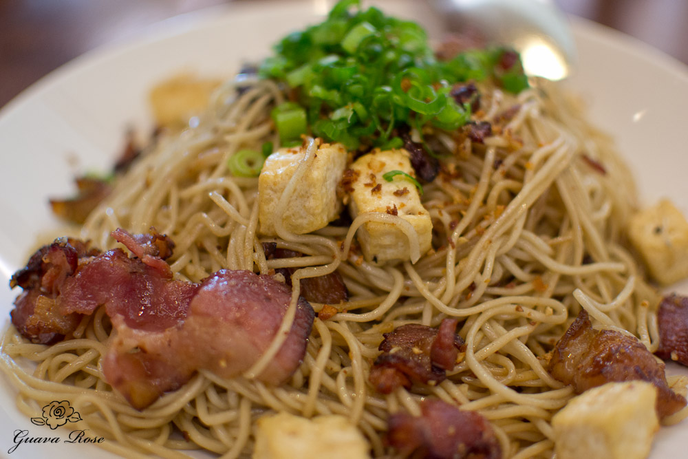 Garlic Noodles – Fresh & Fried Garlic, Garlic Oil, Dashi, Scallions