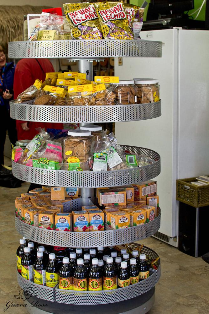 Aloha Warehouse rounder of snacks and freezer