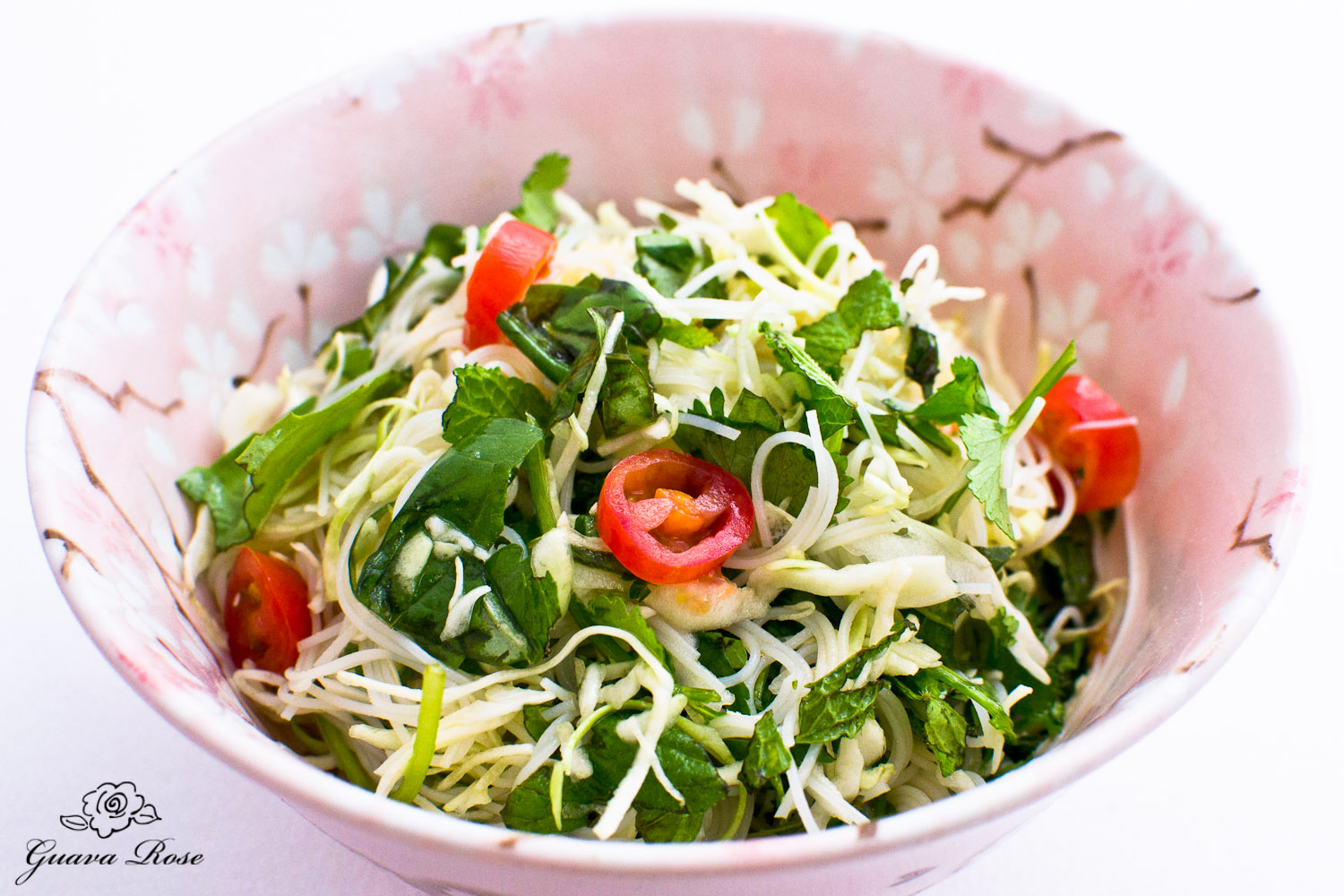 Fresh Herb Noodle Salad
