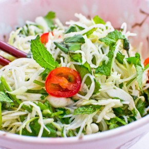 Recipe: Fresh herb noodle salad