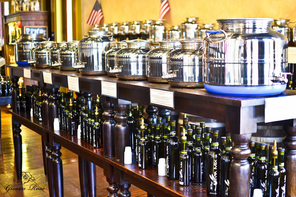Olive Oil metal dispensers and bottles