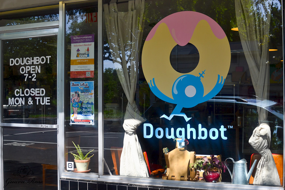 Doughbot front window