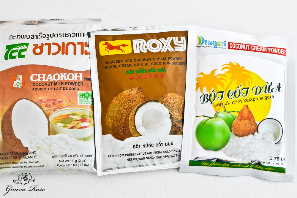 Coconut milk powder, coconut cream powder