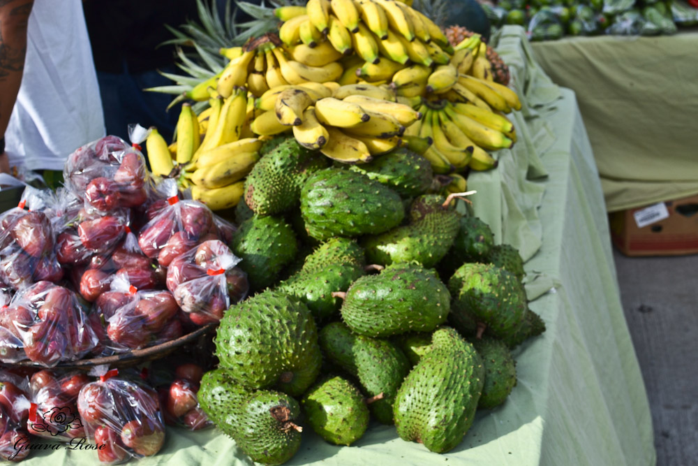 Mountain apples, Apple Bananas, Soursop
