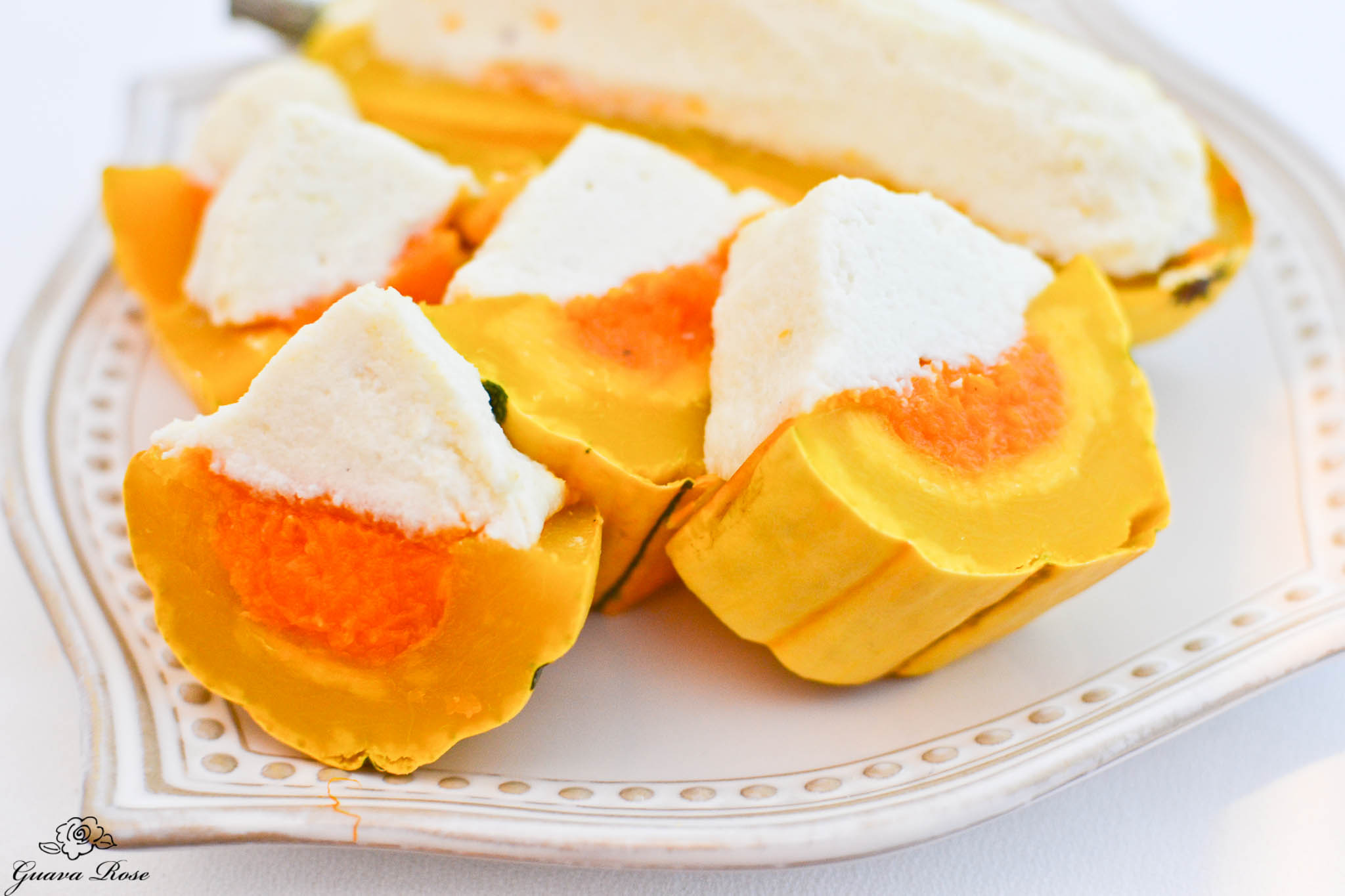 Candy Corned Squash (Delicata, Butternut, and Cauliflower) slices 2