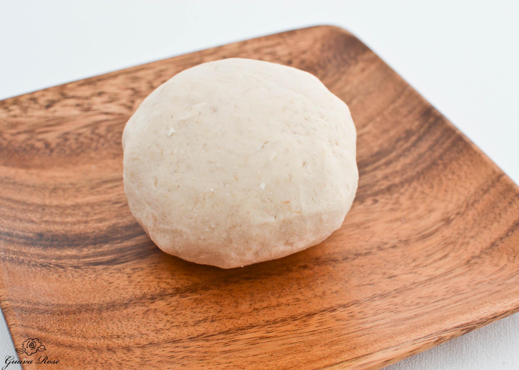 Pa'i'ai made into dough