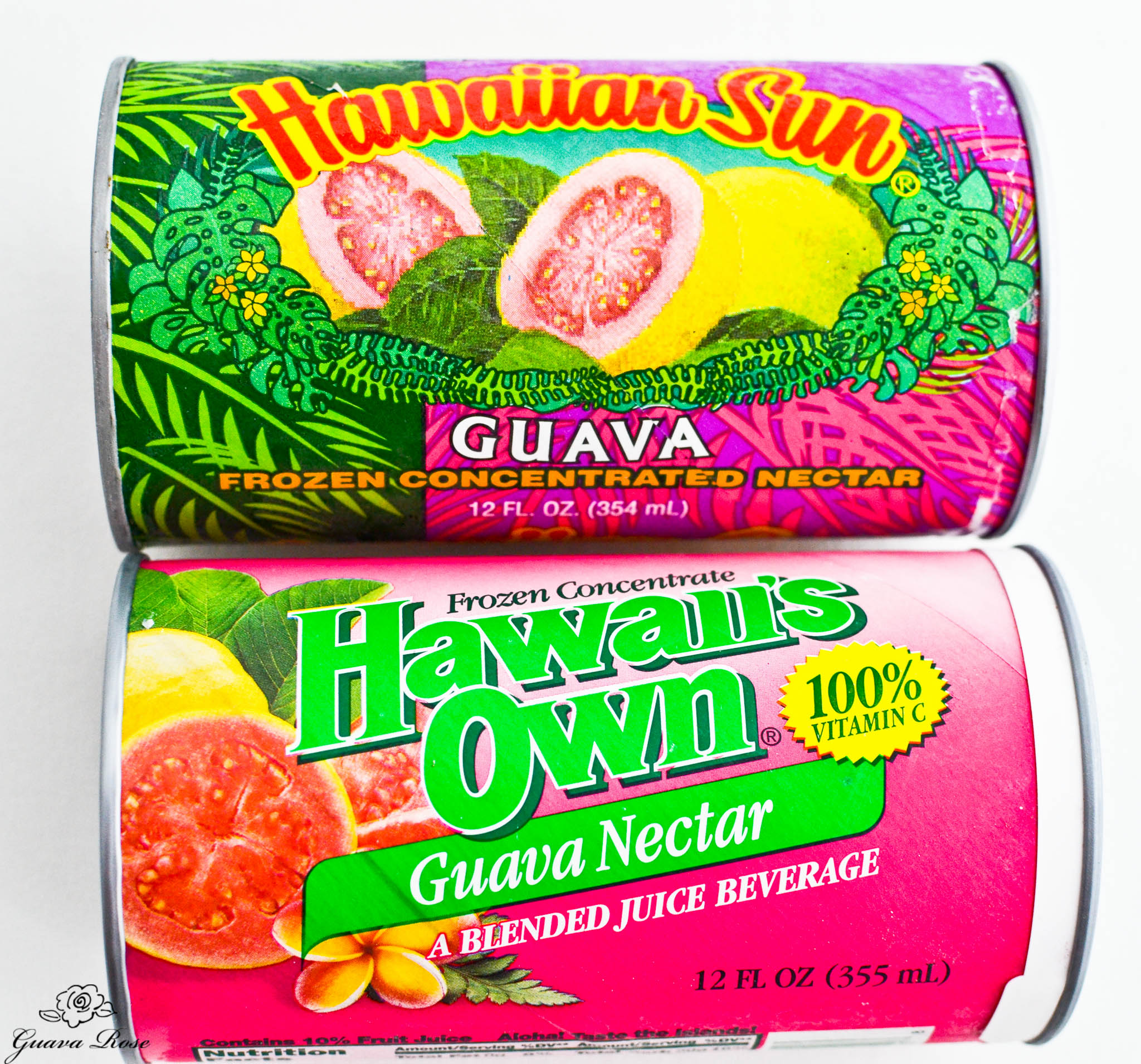 Frozen guava nectar concentrate cans 1