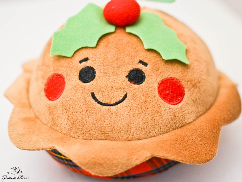 Christmas toy pie
