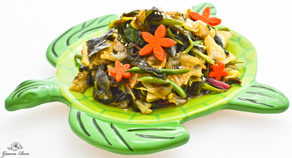Honu Sea Vegetable Salad 2