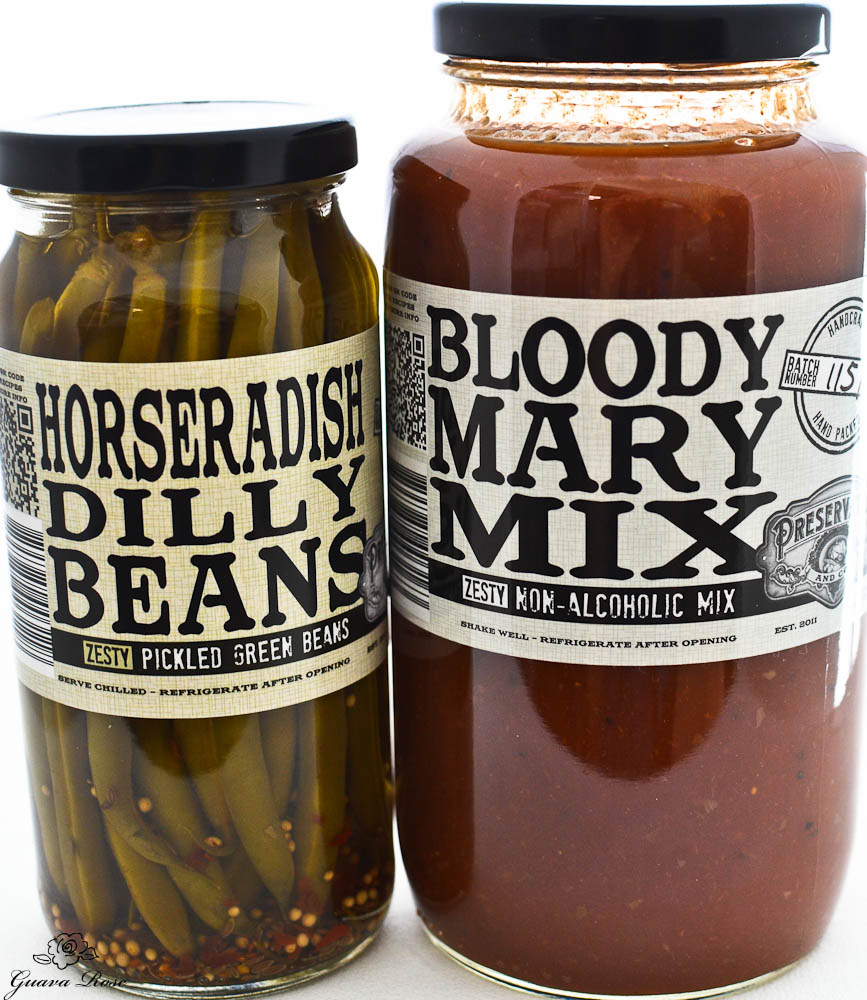 Preservation & co. Bloody Mary Mix, Horseradish Dilly Beans
