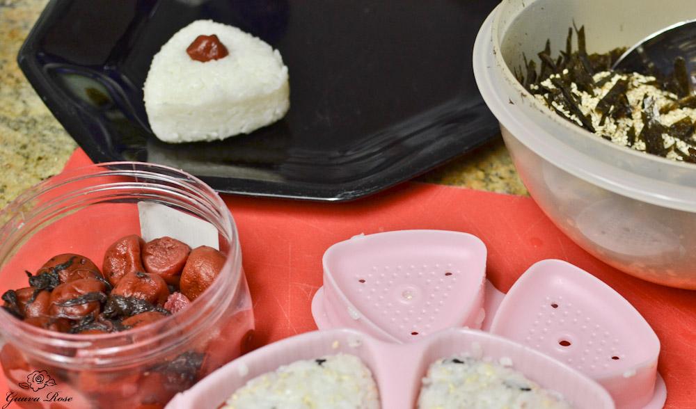 Musubi, umeboshi, furikake