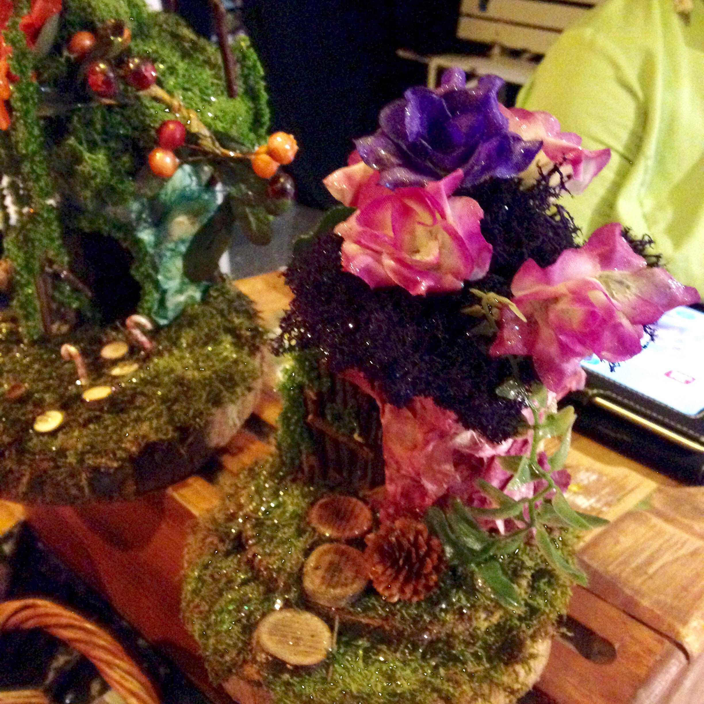 Decorate your own fairy house
