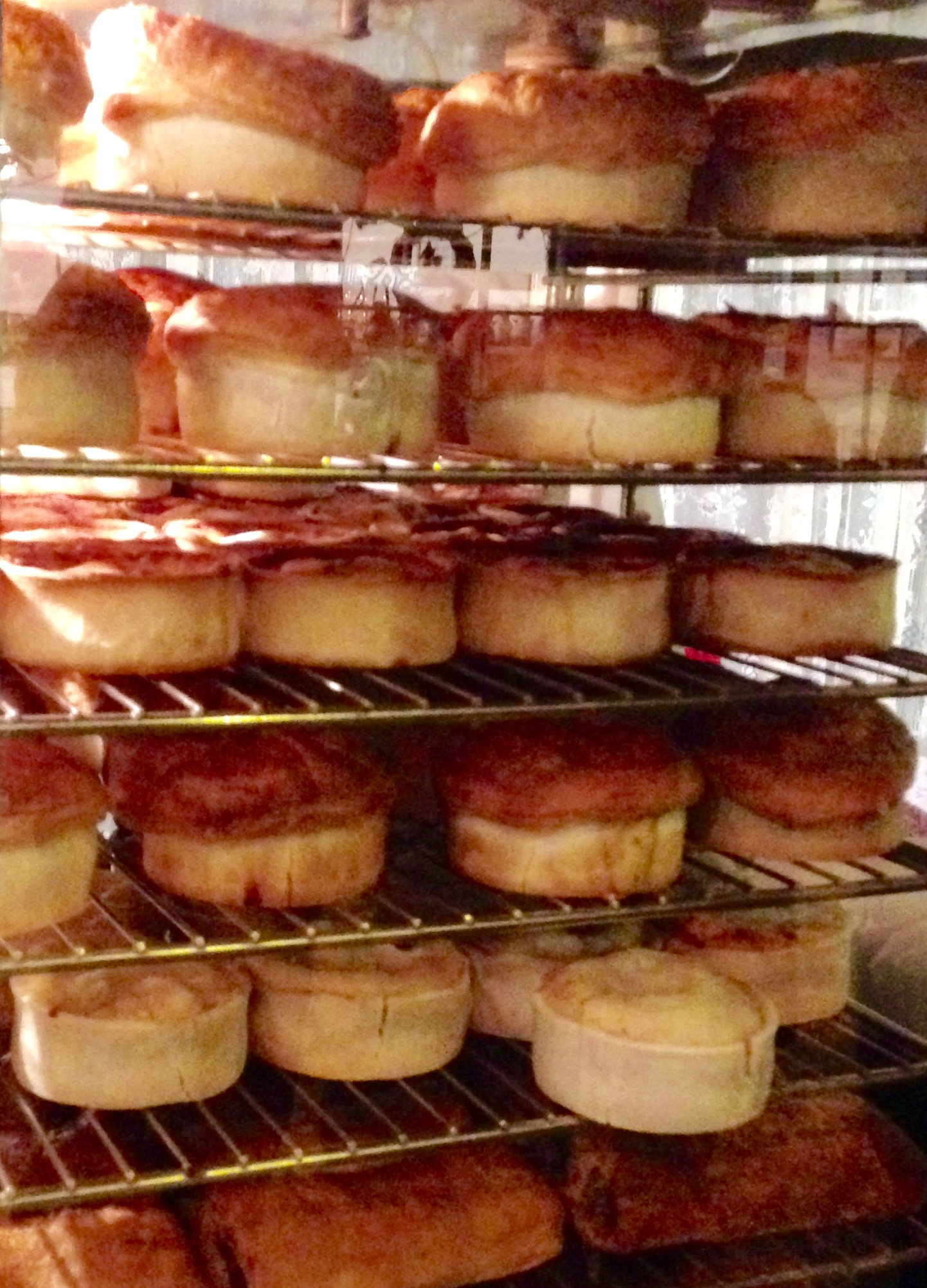 Racks of Meat Pies