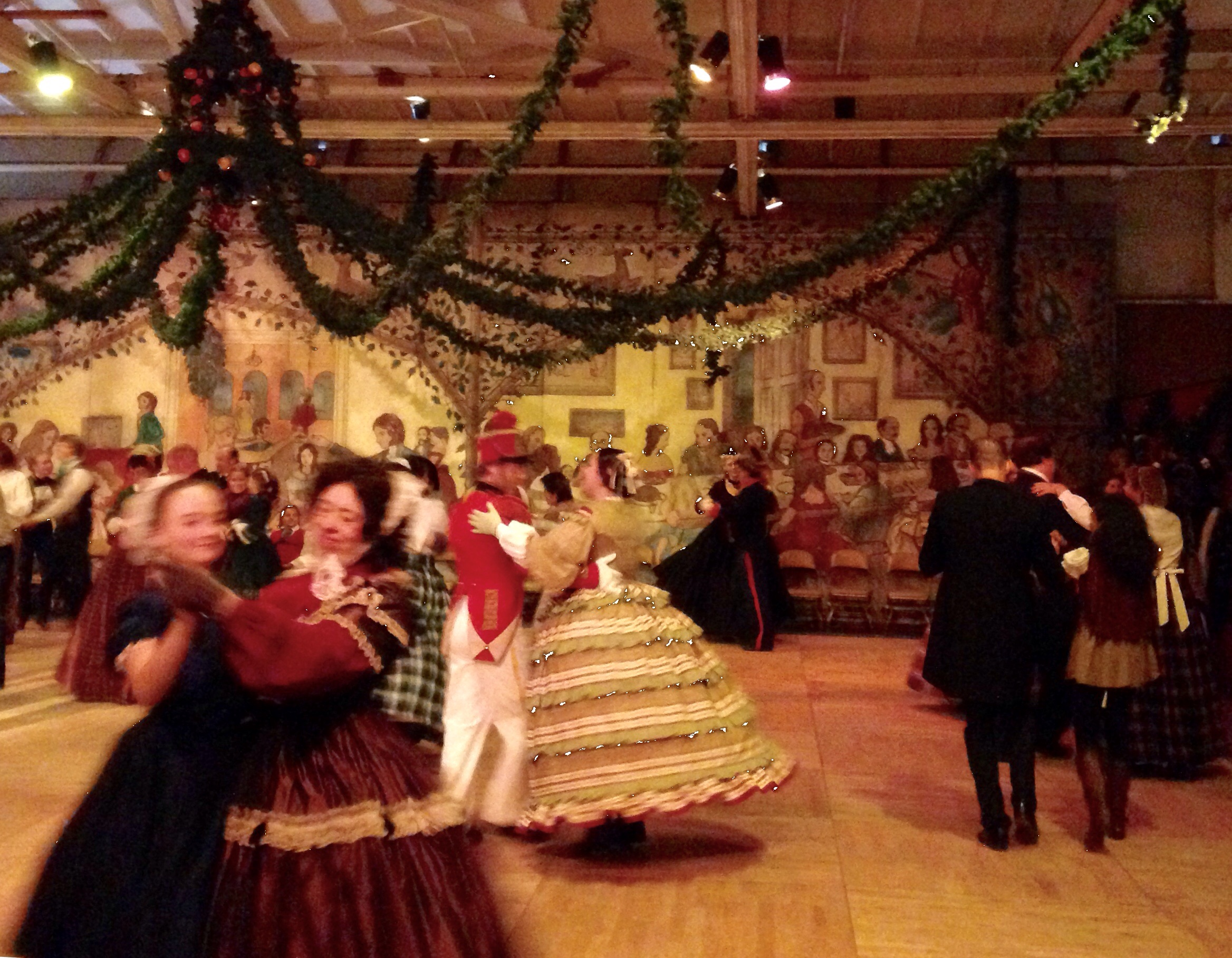 Waltzing in Fezziwig's warehouse