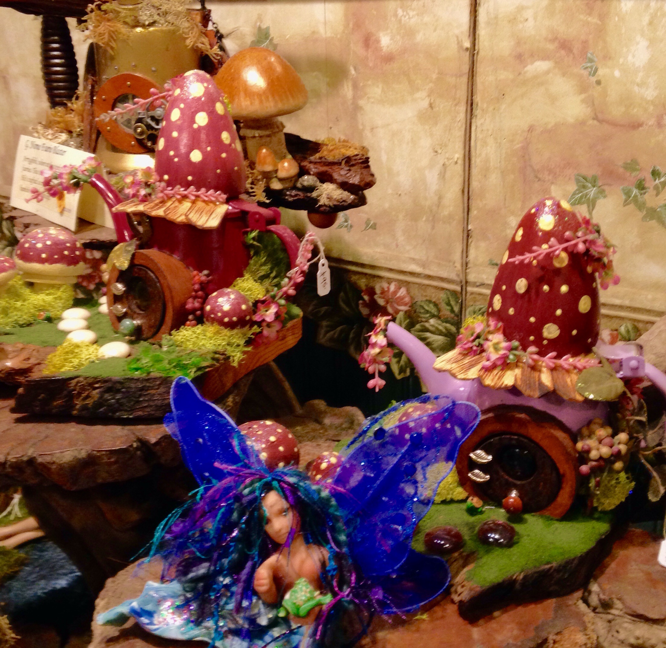 Decorated Fairy Houses by Whispers from the Past 2