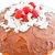 Hawaiian Sweet Bread Ice Cream Bombe, top side view
