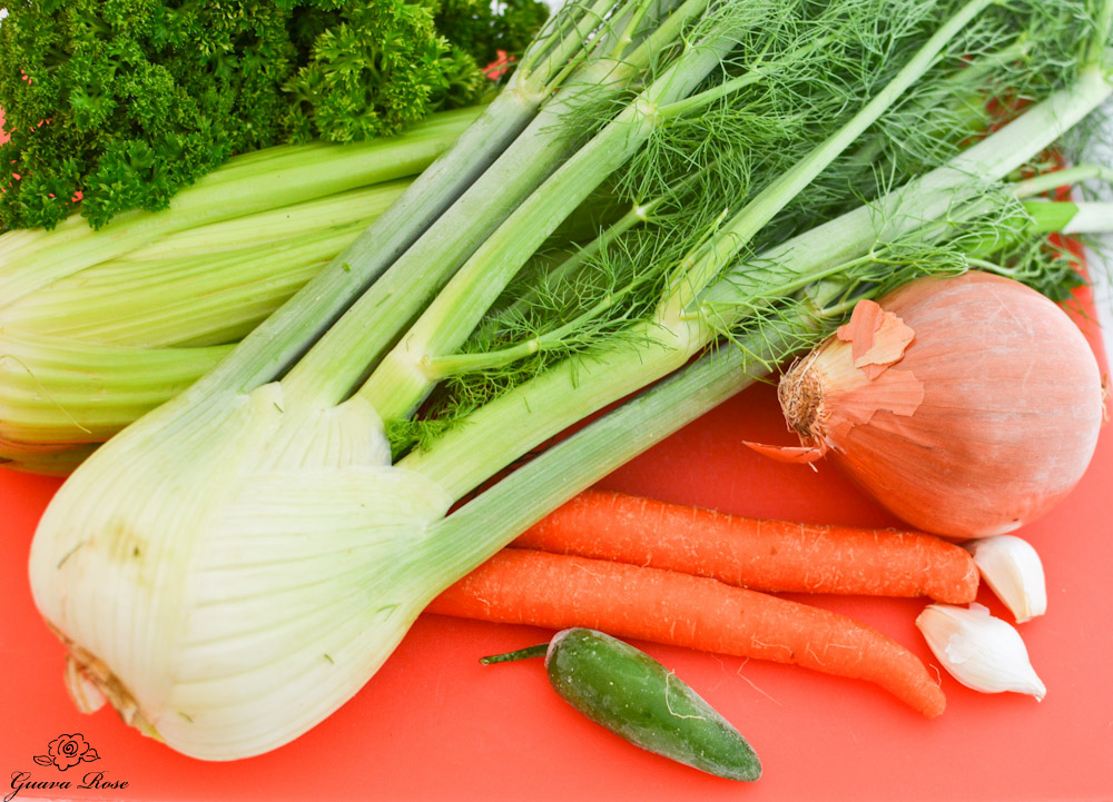 Vegetables for Broth