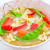 Chicken Vegetable Soup, top side view