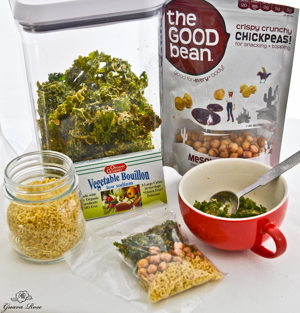 Chickpea Kale soup packet ingredients