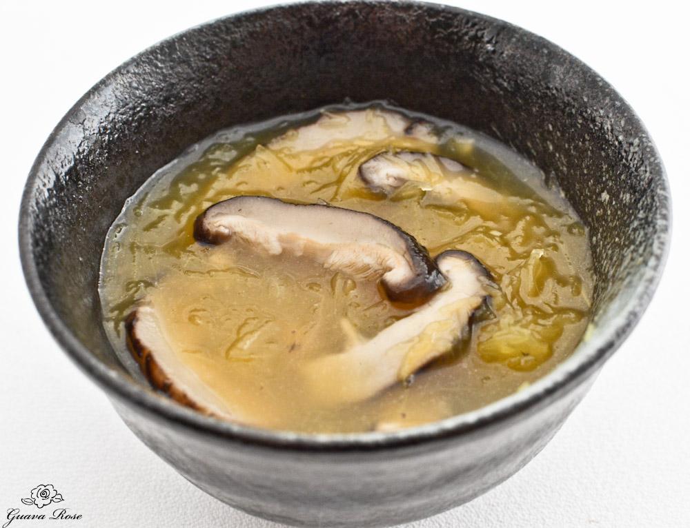 Chinese style Spaghetti squash soup, no egg