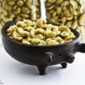 Lemon Dill Cashews